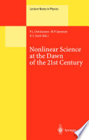 Nonlinear Science at the Dawn of the 21st Century