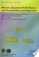 Motives, Quantum Field Theory, and Pseudodifferential Operators