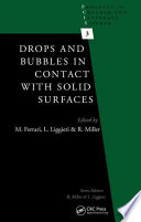 Drops and Bubbles in Contact with Solid Surfaces