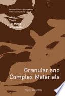 Granular and Complex Materials volume 8