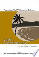 Laser Spectroscopy: proceedings of the XVI international conference