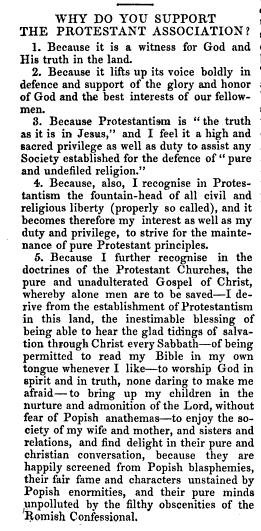 Protestant association